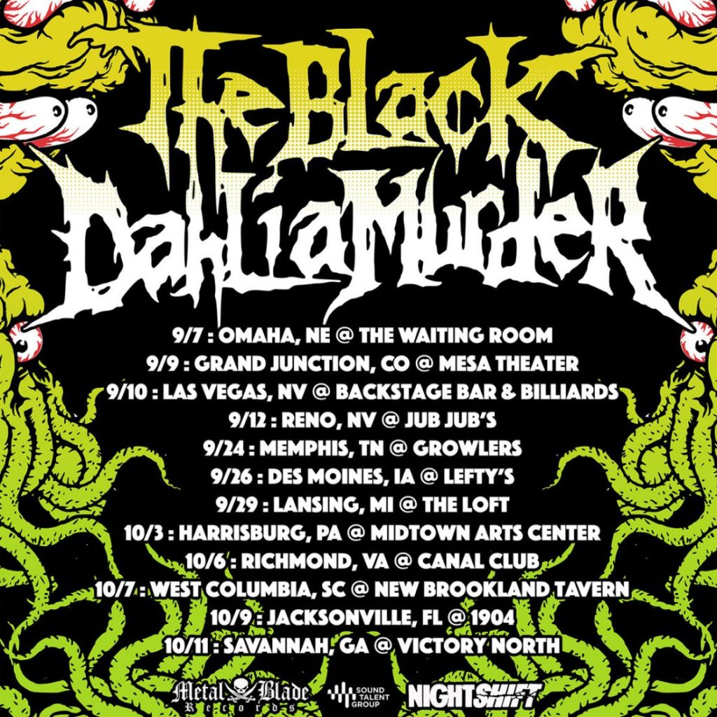 The Black Dahlia Murder to kick off North American tour with