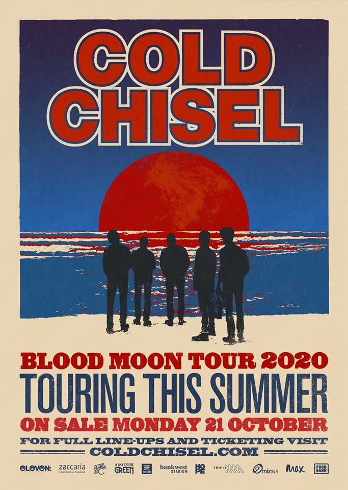 "Cold Chisel announce ""Blood Moon Tour"" including A Day On ..."