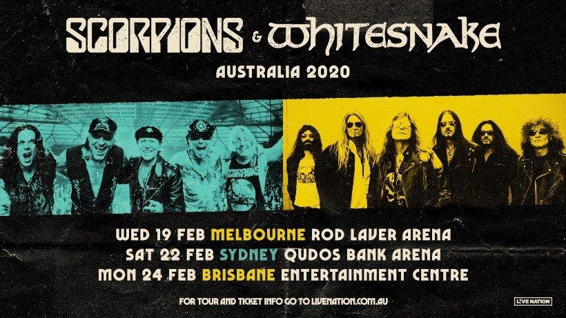Scorpions and Whitesnake announce Australia tour dates ...