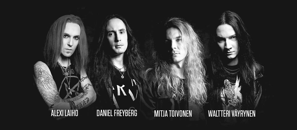 Former Children Of Bodom Frontman Alexi Laiho Reveals New Band Bodom After Midnight The Rockpit