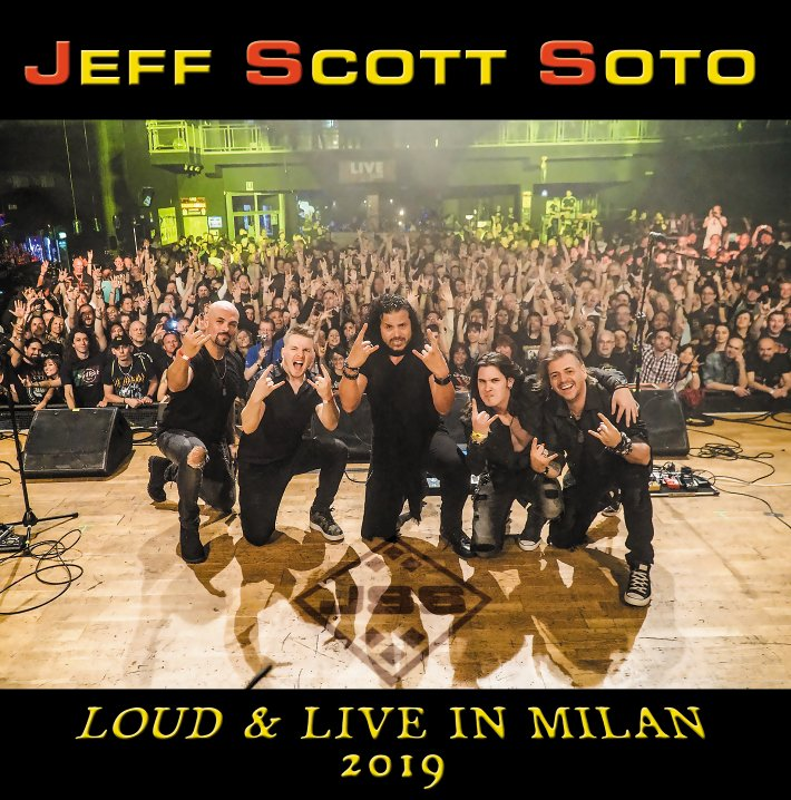 "Jeff Scott Soto releases new live album ""Live At Frontiers Rock ..."