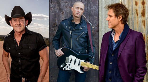 Diesel, Tim Freedman and Lee Kernaghan