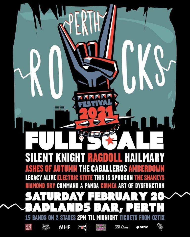 Perth Rocks Festival 2021