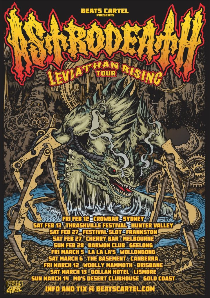 Astrodeath - 'Leviathan Rising' 2021 East Coast Tour