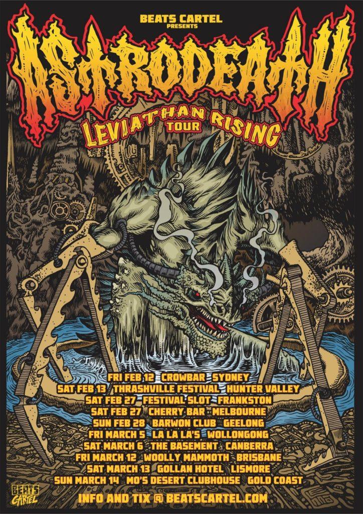 Astrodeath - 'Leviathan Rising' 2021 East Coast Tour
