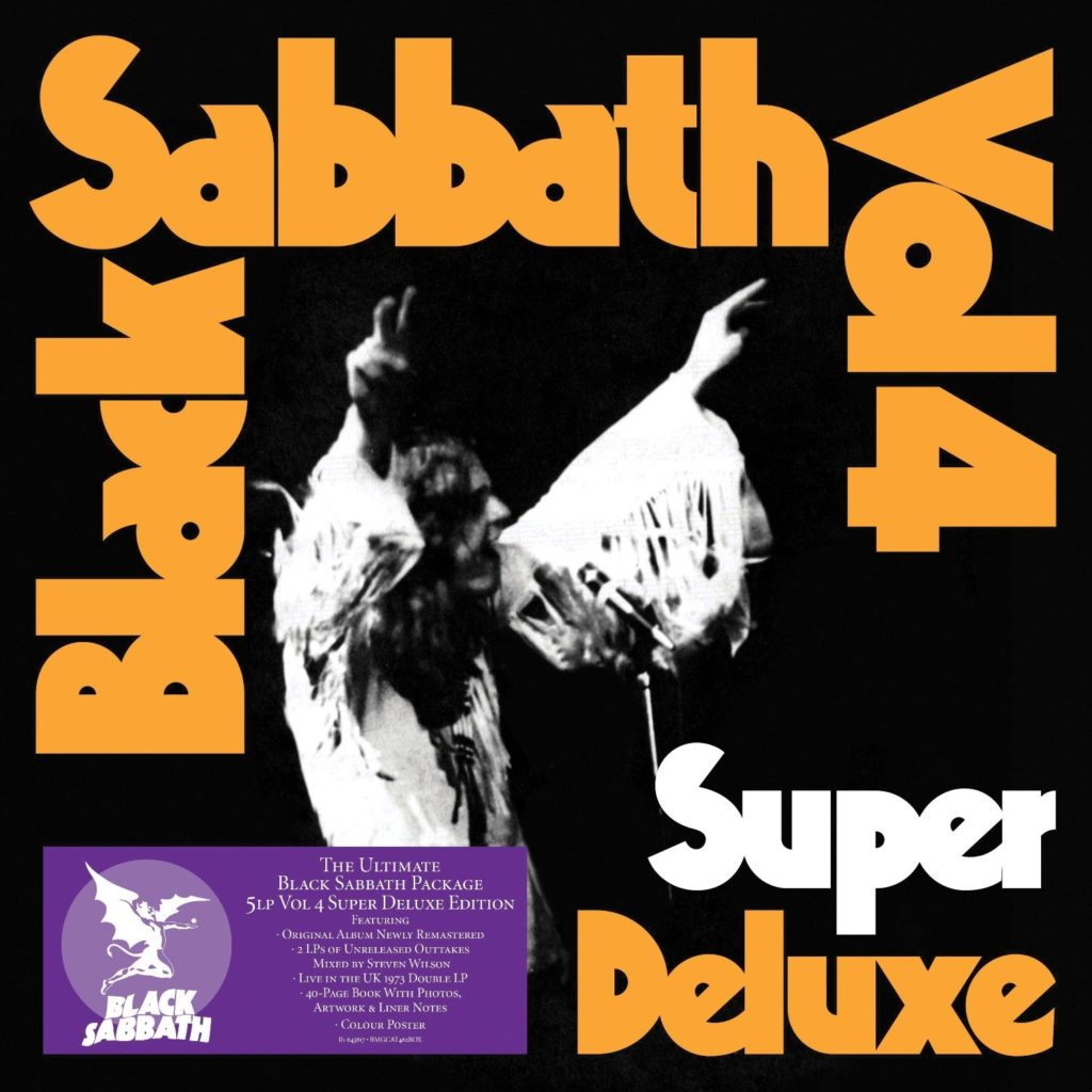 Black Sabbath to release VOL 4 Super Deluxe Edition Boxsets – The Rockpit