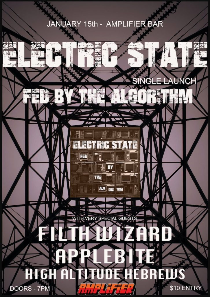 Electric State - Fed By The Algorithm Launch Show