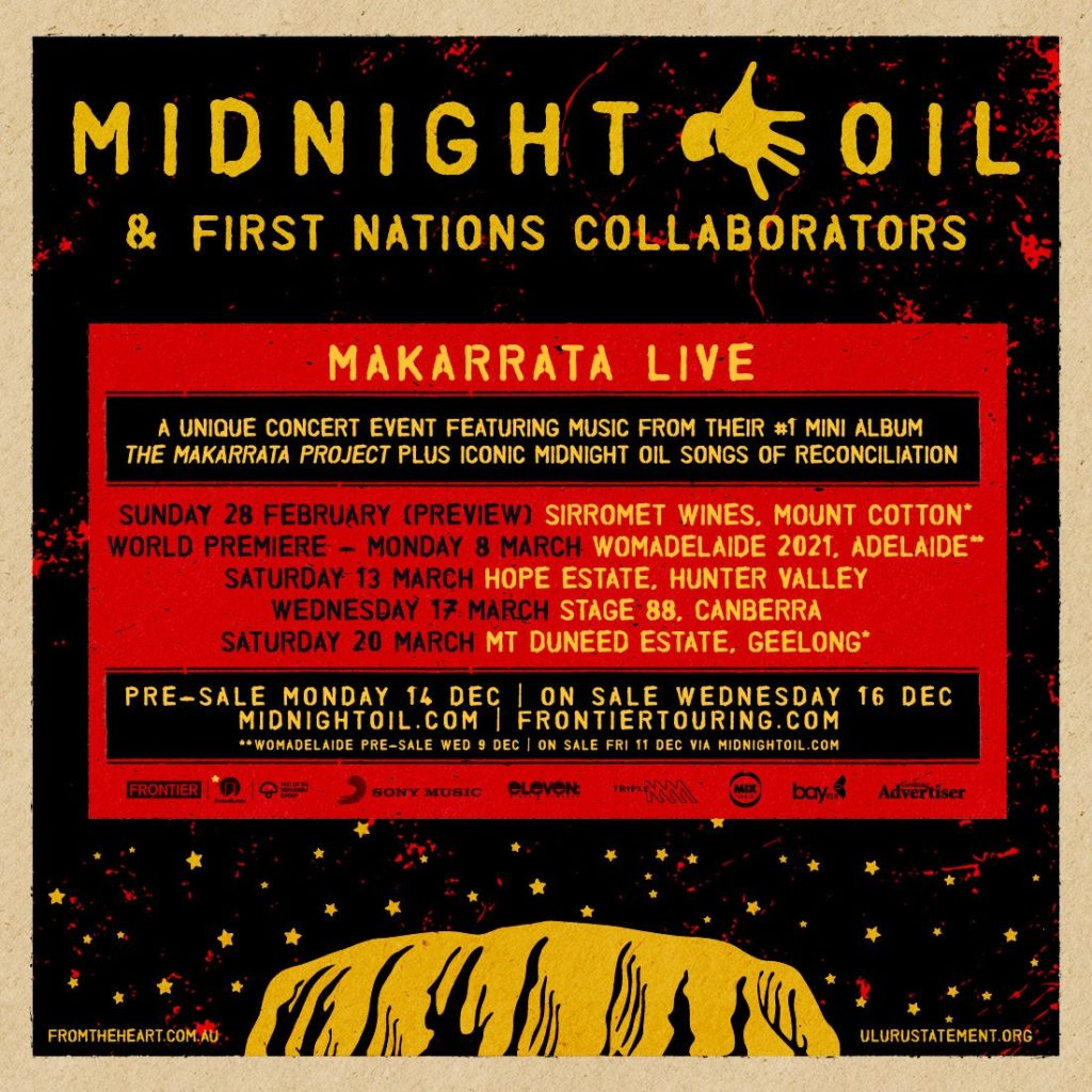 Midight Oil - Makarrata Live