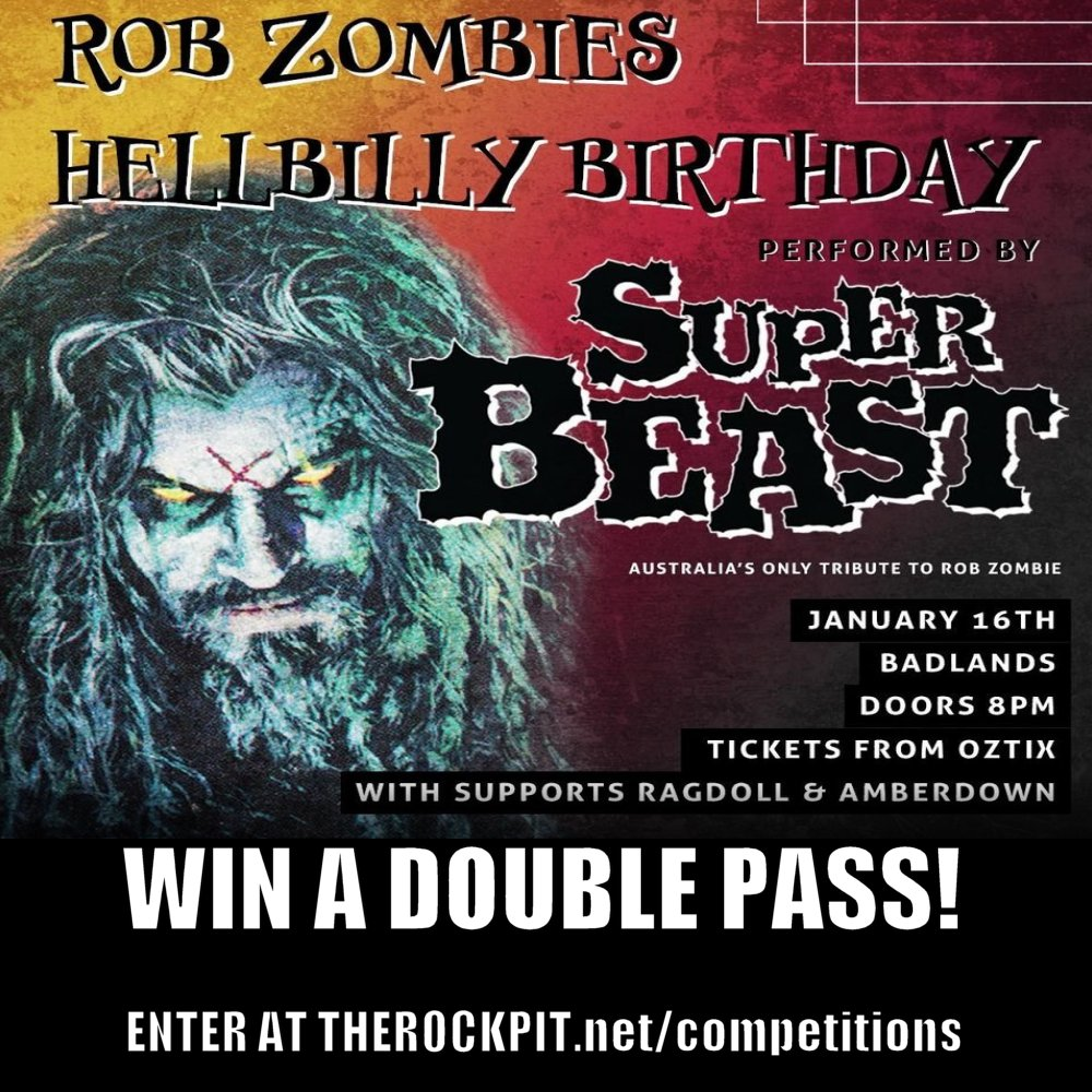 Superbeast - Rob Zombie Tribute double pass giveaway!