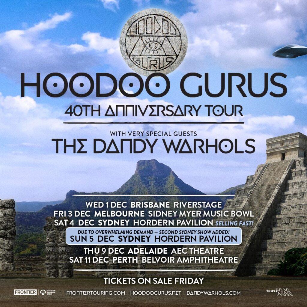 Hoodoo Gurus 40th Anniversary Tour