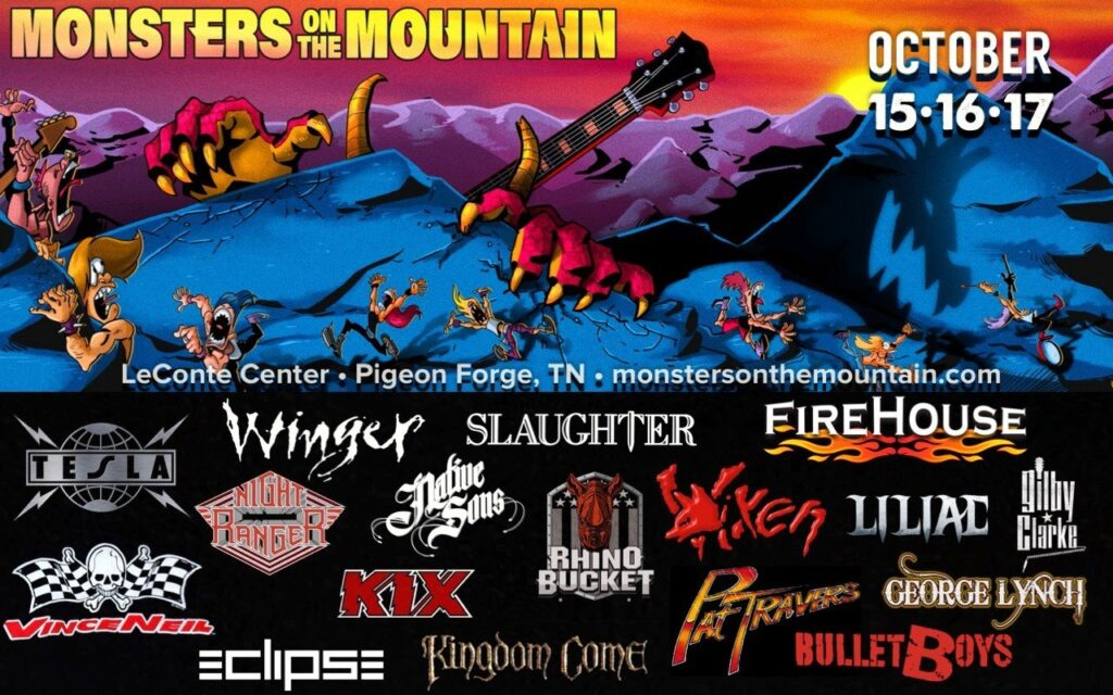 Monsters On The Mountain
