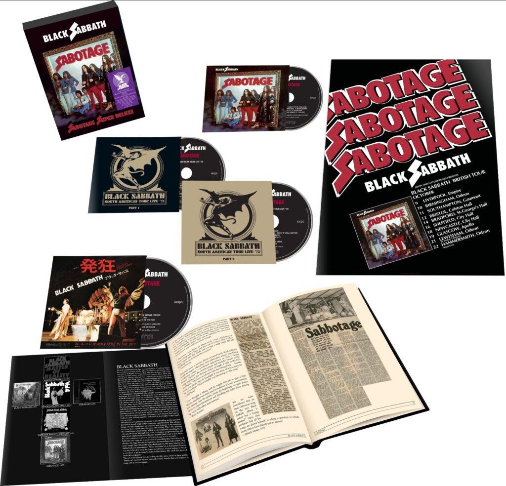 Black Sabbath - Sabotage Suoer Deluxe