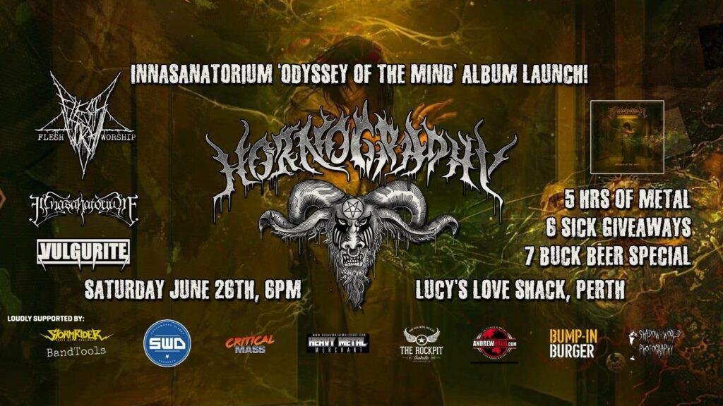 Hornography Perth Metal Club - June 2021