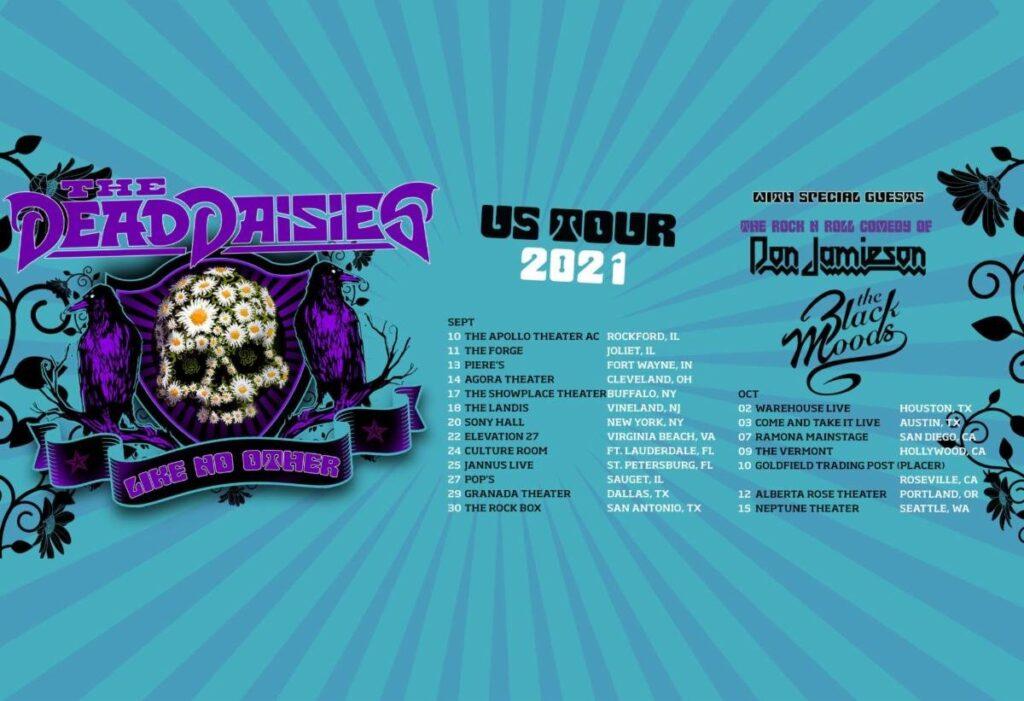 The Dead daises US tour 2021